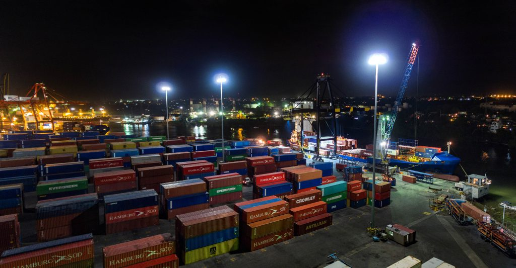 Haina International Terminals registra el mayor tránsito de buques de República Dominicana.