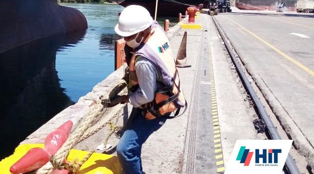 Puerto Río Haina sigue operando para garantizar el abastecimiento de productos de primera necesidad